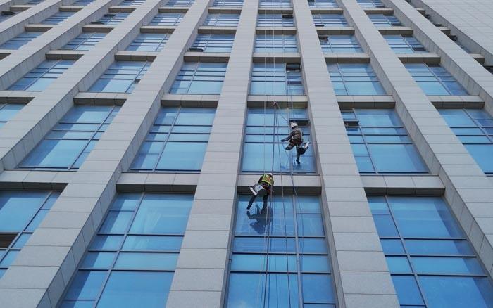 海安建邺幕墙维修玻璃订做